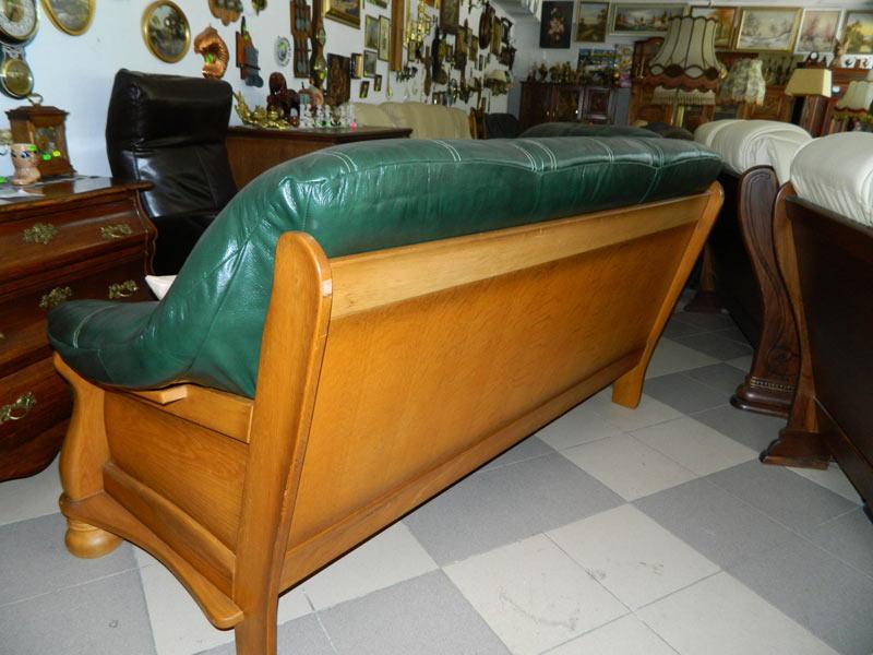 комплект диванов 3+2 в новой коже